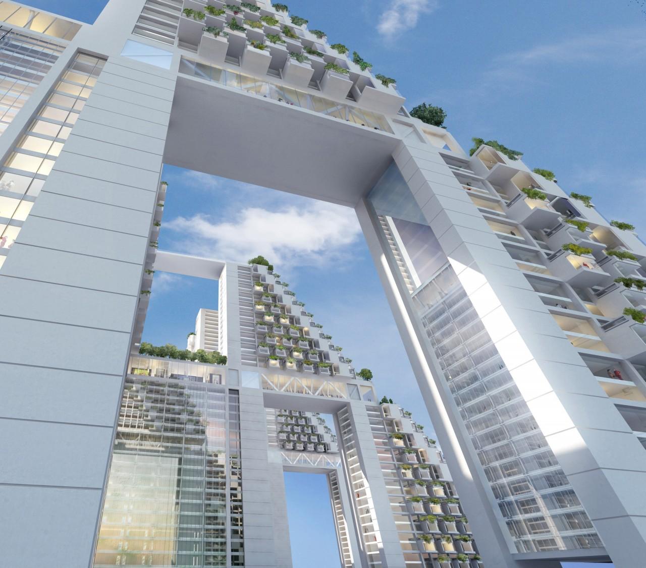 SINGAPOUR - SKY HABITAT PAR L'ARCHITECTE MOSHE SAFDIEitects-00