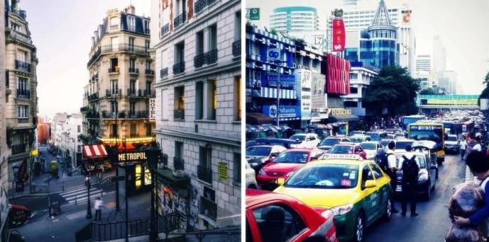 Paris - Bangkok
